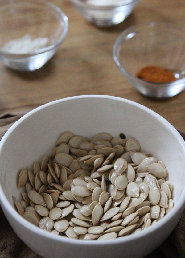 Sweet and Spicy Roasted Pumpkin Seeds - Yahoo Homes