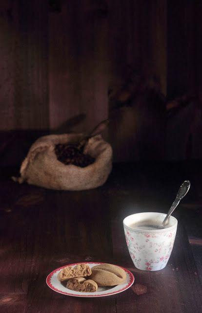 Fabsfood: Espresso-bean shortbread cookies