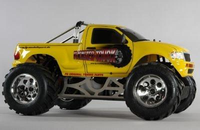 RC FG Modellsport Monster Truck ARTR (Yellow) w/26cc