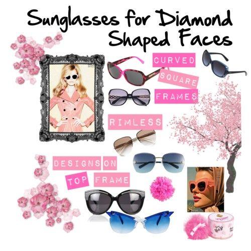 Gallery For > Diamond Face Shape Sunglasses