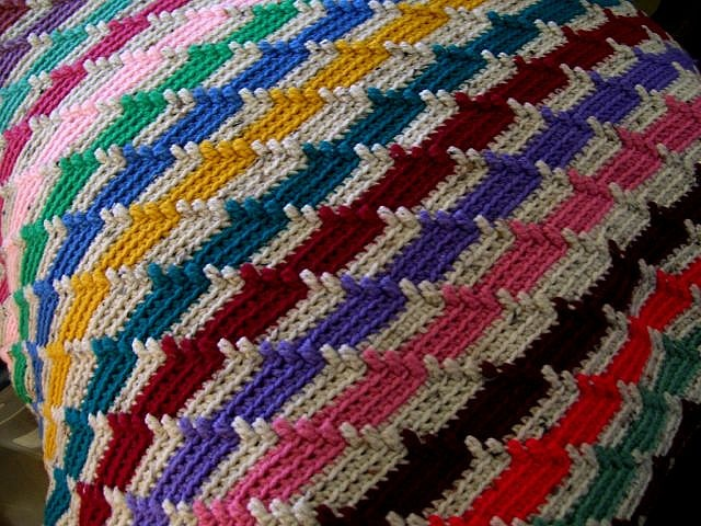 Posts similar to: Apache Tears afghan. pattern http://www ...