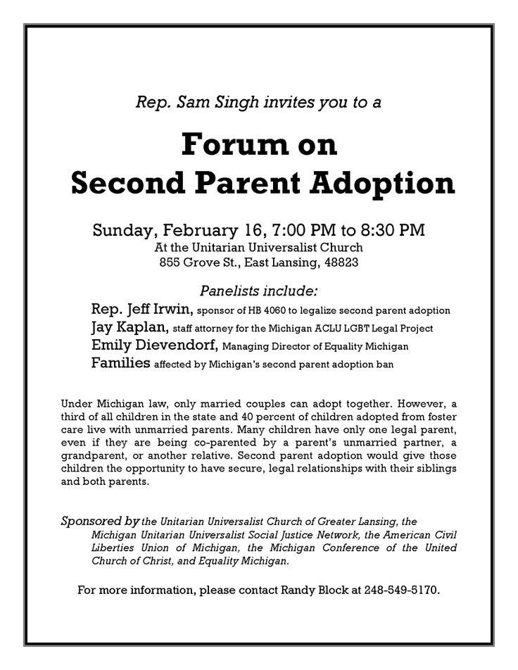 resources second parent adoption