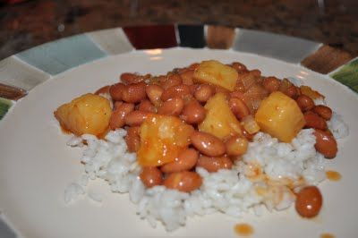 want some traditional rice and beans puerto rican style now!!!