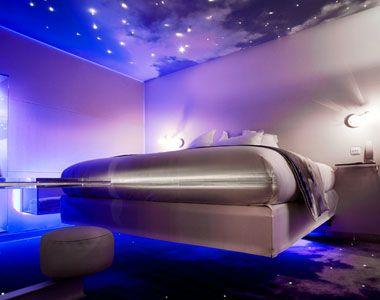 Futuristic Space Bedroom