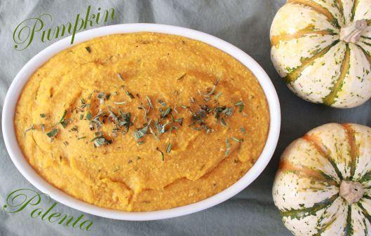 Pumpkin Polenta | BB á La Carte | The Wonderful World of Food | Pinte ...