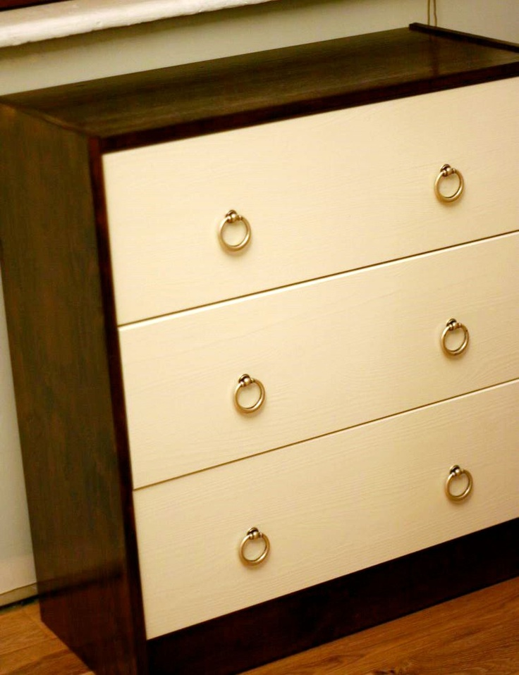 Ikea Hack Nightstand | the Martha Stewart in me | Pinterest