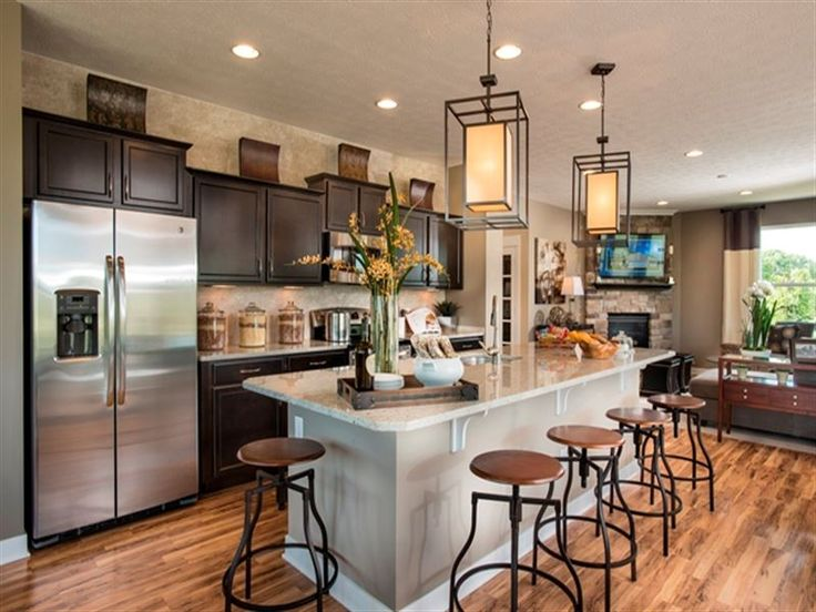 Awesome KitchenLiving Room Combo Pinterest