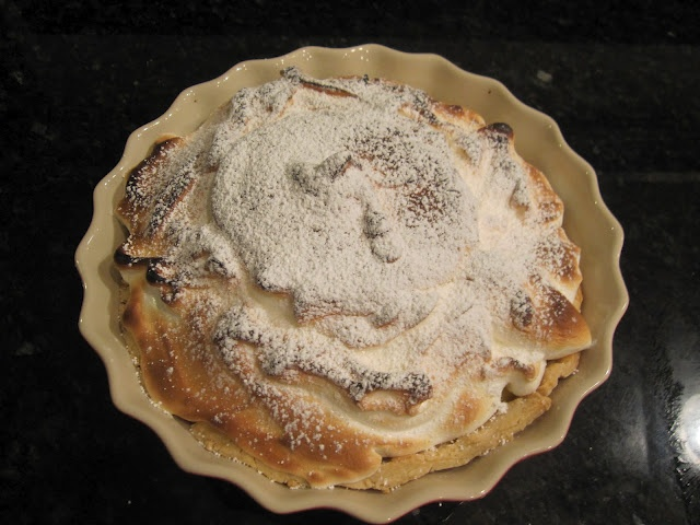 Lemon-Lime Meringue Pie | A Great American Cook | Pinterest