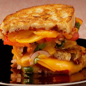 Spiced-Up Grilled Cheese Recipe