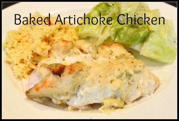 Artichoke Chicken | Favorite Food Bloggers! | Pinterest