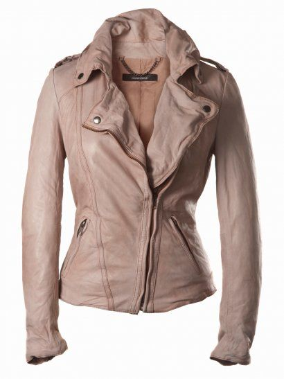 Muubaa Athena Leather Biker in Lobster If this wasn't so expensive, I