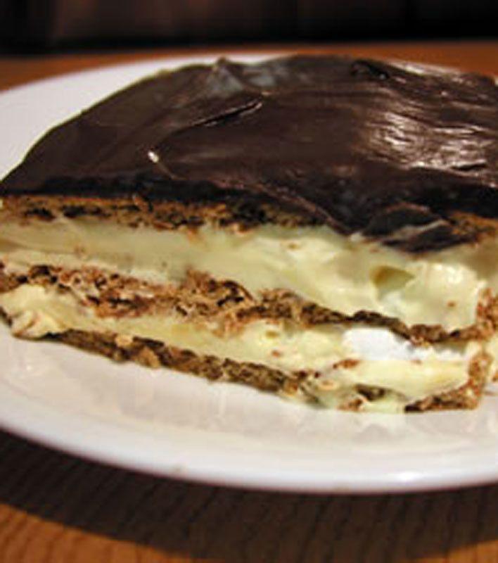Images Of Chocolate Eclair Cake : Chocolate Eclair Dessert Click dessert Pinterest