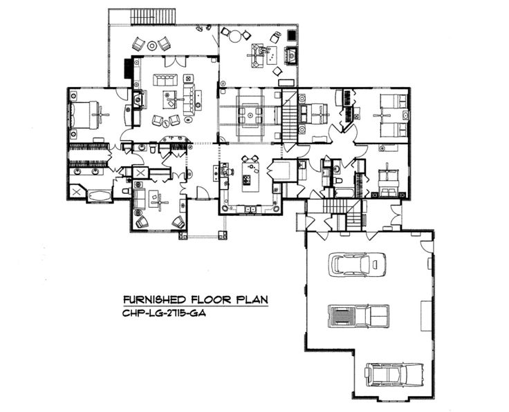 Pin By Carolina Home Plans Llc On House Plans With Split