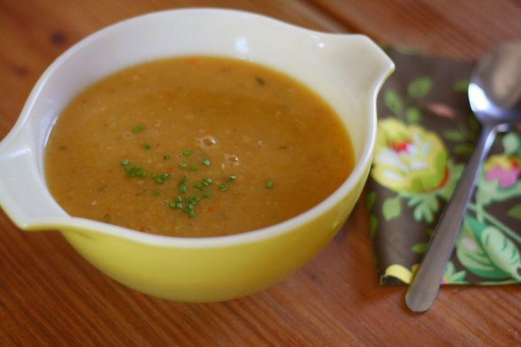 yellow split pea soup | Delectable Soups | Pinterest