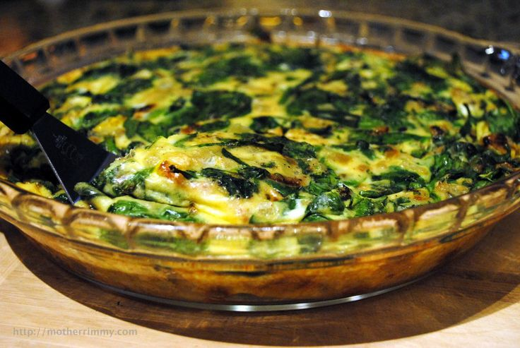 rosemary crustless quiche egg spinach and two cheese crustless quiche ...