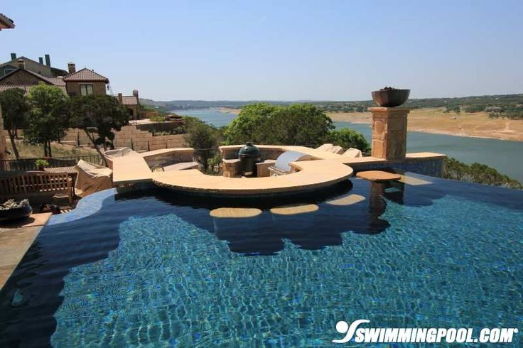 Pictures Of Outdoor Pool Bars : Swim Up Bar and Outdoor Kitchen  Swimmingpoolcom