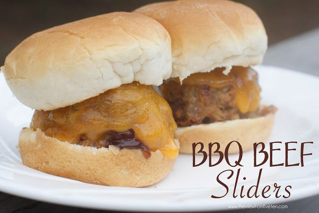 BBQ Beef Sliders Recipe | Tyler's 5th Birthday Party-Angry Birds! | P ...