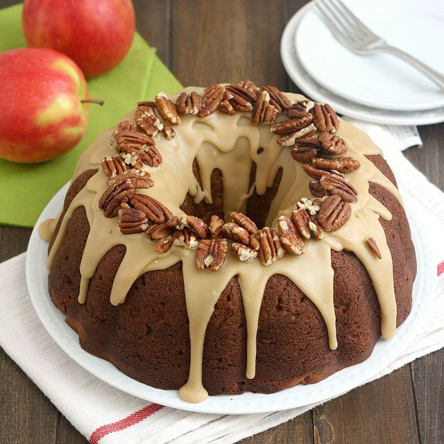 Apple-Cream Cheese Bundt Cake by Tracey's Culinary Adventures, via ...