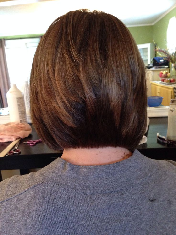 Layered Inverted Bobs Inverted bob within layers