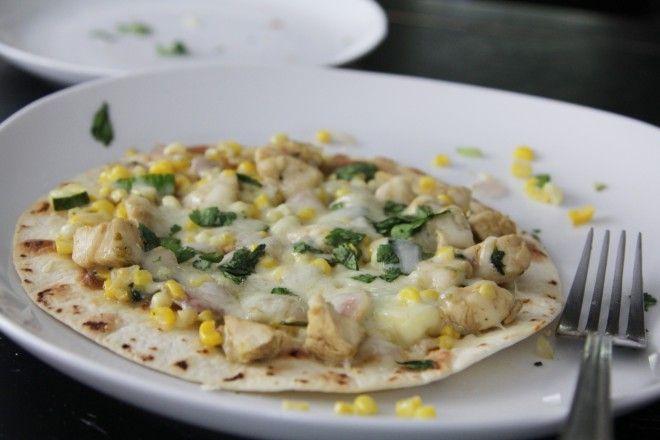 Chicken + Summer Vegetable Tostadas [recipe!]