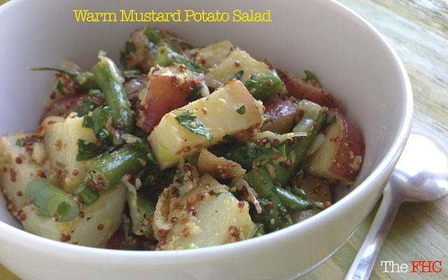Warm Mustard Potato Salad