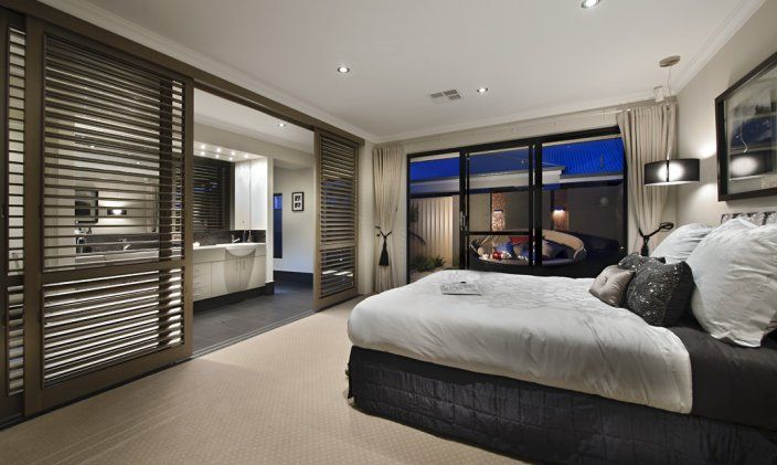 Pin by dale alcock homes on bedrooms pinterest Master bedroom with ensuite