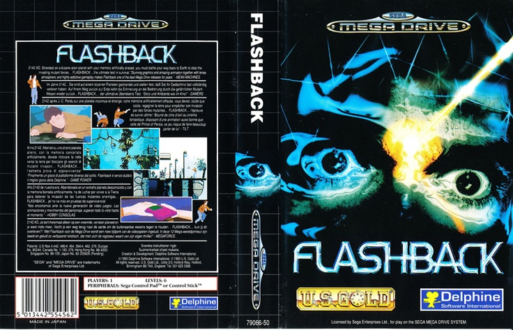 flashback # megadrive # sega # videogame