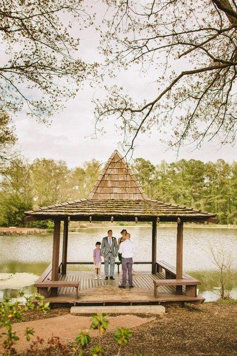 Real wedding heather and graham s 2 000 wedding gazebo designed