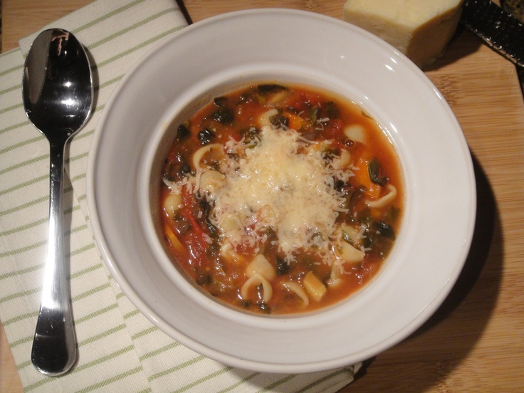 Crock Pot Minestrone Soup | food - for the main course | Pinterest