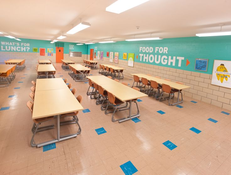 school cafeteria design | HOW Design Names 2012 Color In Design Award Winners | Brighter ...