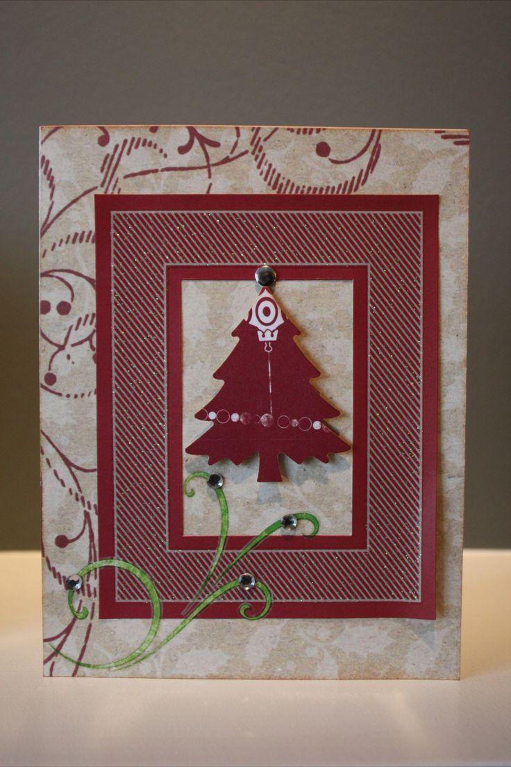 Christmas cards handmade card ideas pinterest for Handmade christmas cards pinterest