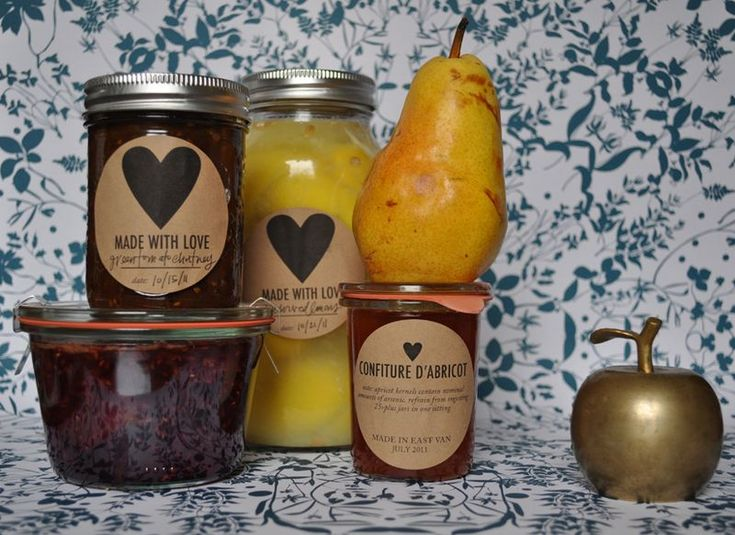 free downloadable canning labels