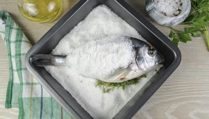 Whole Fish Roasted in Salt   The Splendid Table