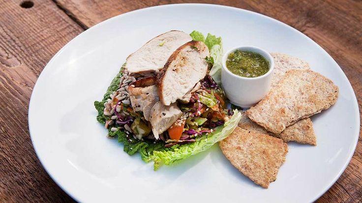 Harissa Chicken w/Cabbage & Avocado Slaw -- winning recipe from #CYAO