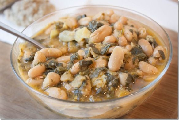 white beans recipes dishmaps artichoke spinach pizza with white beans ...