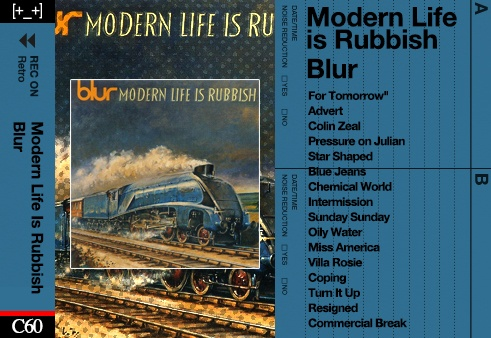 Blur The Modern Life Is Rubbish Fivefile