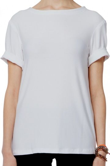 White t shirt made in usa basics and staples sustainably made