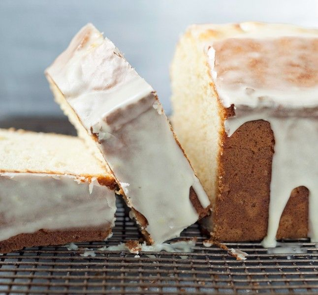 Cream Cheese Pound Cake with Citrus Glaze - Bon Appétit