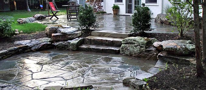 Sunken Backyard Patio : sunken patio  Gardening  Pinterest