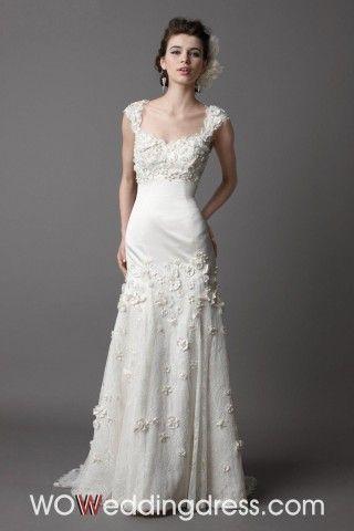 Appliques Wedding Dress - Shop Online for Cheap Wedding Dresses