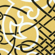 Fabric | Duralee Tobin Exclusive Prints  Tobin Exclusive Prints - book # 2607  Pattern/Color: 20863-269  Description: LEMON