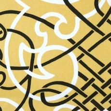 Fabric | Duralee Tobin Exclusive Prints  Tobin Exclusive Prints - book # 2607  Pattern/Color: 20863-269  Description: LEMON