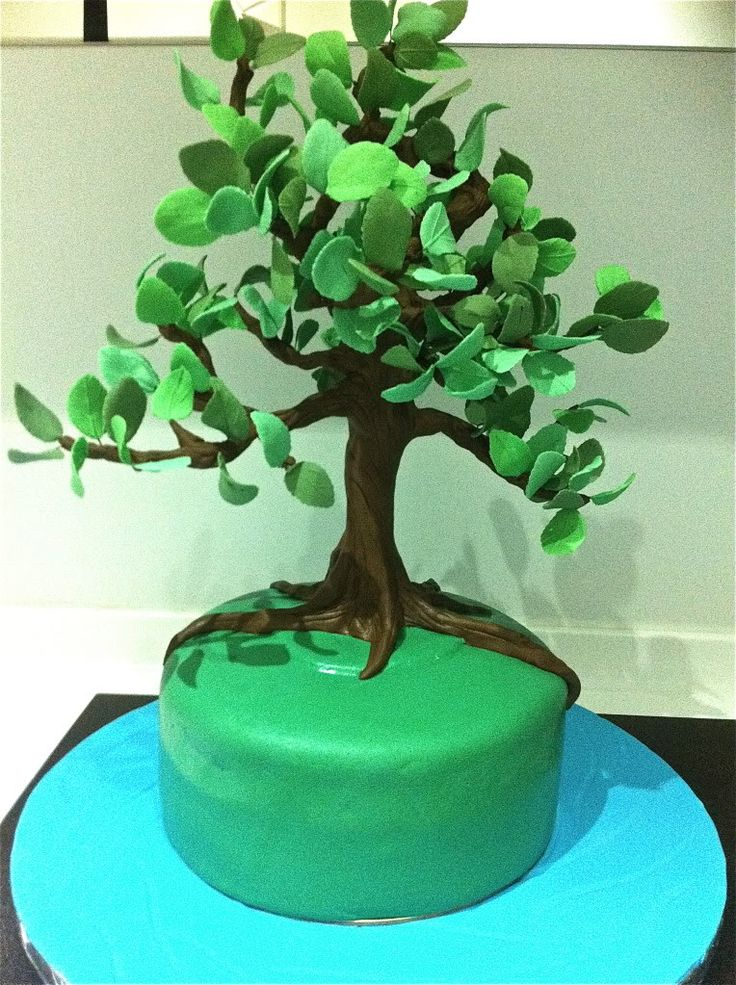 Cake Decorating Making Trees : Pin by Linda H. on Dessert - Icing, Gum Paste, Fondant How ...