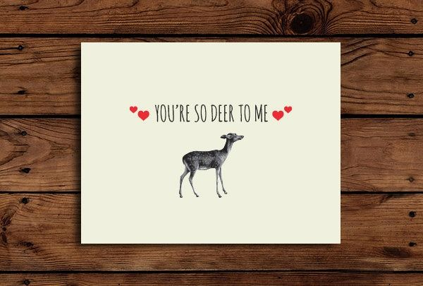 valentine red deer
