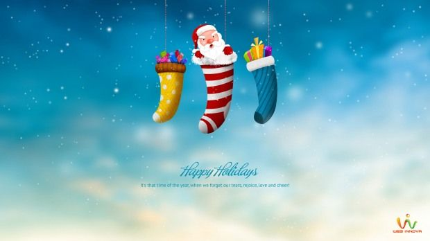 CHRISTMAS WALLPAPER FOR DESKTOP | holiday | Pinterest Happy Holidays ...