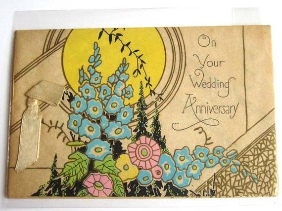 Image Result For Wedding Anniversary Cards