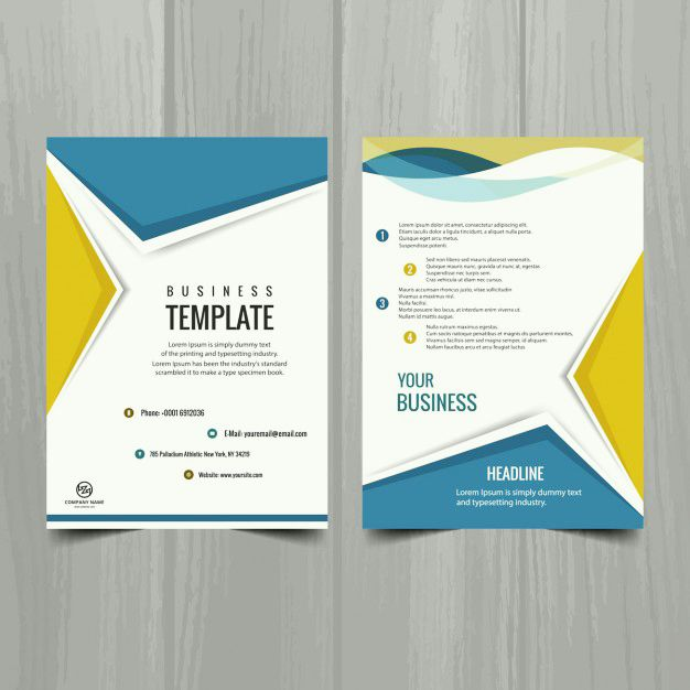 Phamplet template