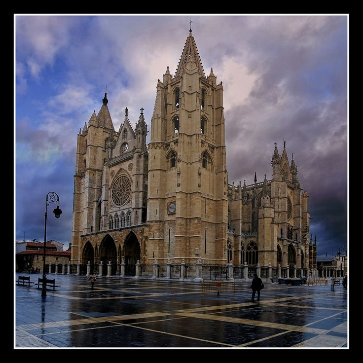 Catedral de Leon.España  places ive recently been, spain portugal