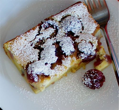 cherry clafoutis | ! Join me in the kitchen ! | Pinterest