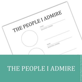 Essay About Someone You Admire